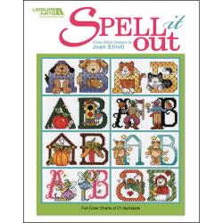Leisure Arts-Spell It Out