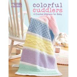Leisure Arts-Colorful Cuddlers 4 Crochet Afghans