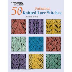 Leisure Arts-50 Fabulous Knitted Lace Stitches