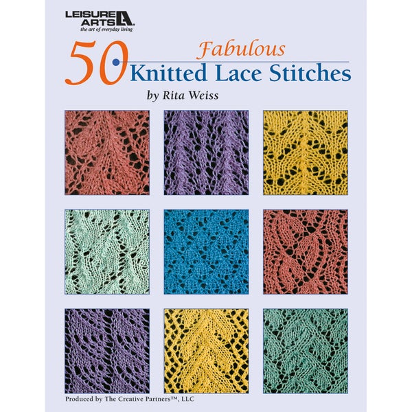 Leisure Arts-50 Fabulous Knitted Lace Stitches