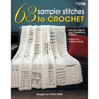 Leisure Arts-63 Sampler Stitches To Crochet