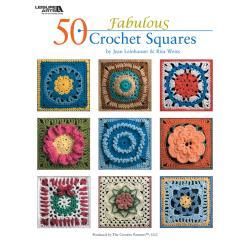 Leisure Arts-50 Fabulous Crochet Squares