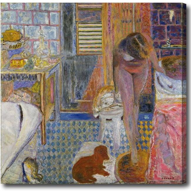 Bathroom 39 Abstract Oil On Canvas Art 14303198
