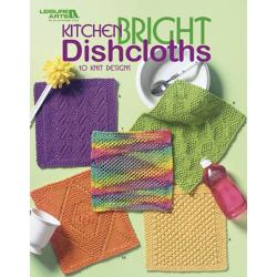 Leisure Arts-Kitchen Bright Dishcloths