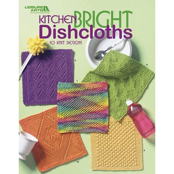 Leisure Arts-Kitchen Bright Dishcloths