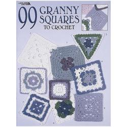 Leisure Arts-99 Granny Squares To Crochet