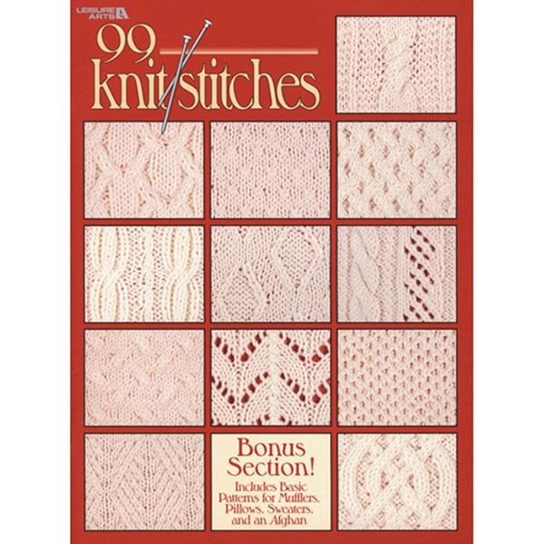 Leisure Arts-99 Knit Stitches