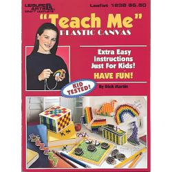 Leisure Arts-Teach Me Plastic Canvas