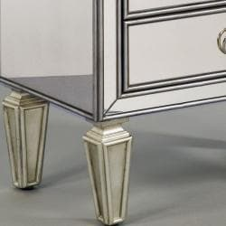 Mirrored Accent Chest