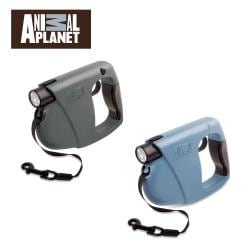 Animal Planet 16-foot Retractable Pet Leash with Flashlight