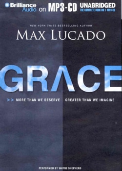 Grace: More Than We Deserve, Greater Than We Imagine (CD-Audio)