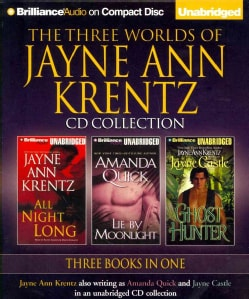 The Three Worlds of Jayne Ann Krentz: All Night Long / Lie by Moonlight / Ghost Hunter (CD-Audio)