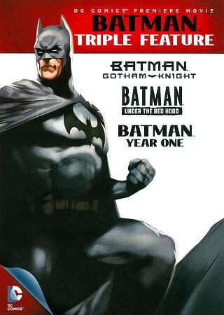 Batman Triple Feature (DVD)