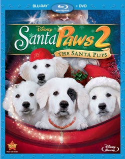 Santa Paws 2: The Santa Pups (Blu-ray/DVD)