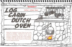 Log Cabin Dutch Oven (Spiral bound)