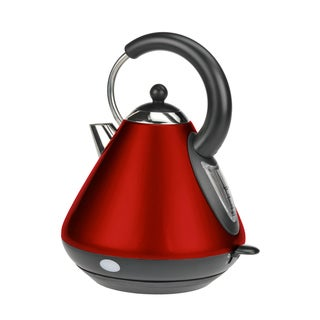 Kalorik Red Pyramid Shape Jug Kettle (Refurbished)