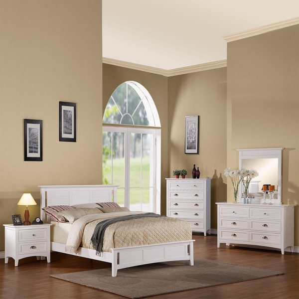 Medway White 5 piece Bedroom Set