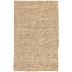Hand-woven Beige Roxborough Natural Fiber Jute Rug (9' x 13')