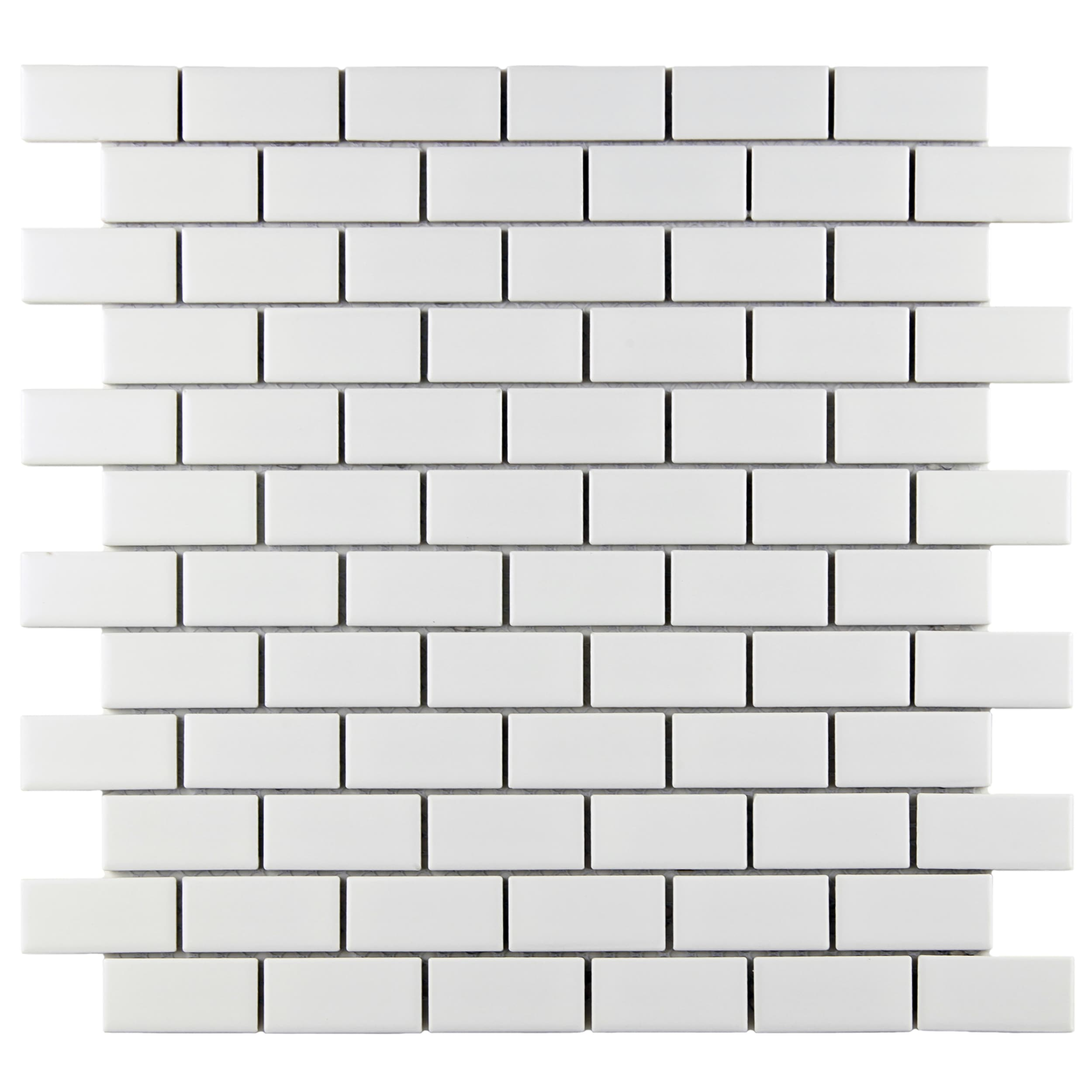 victorian subway matte white porcelain mosaic tiles