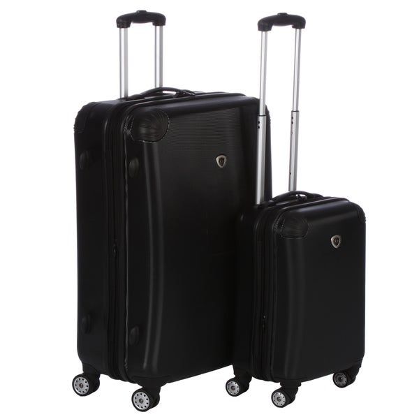 International Traveler Twinwheel Expander 2-piece Hardside Spinner Luggage Set