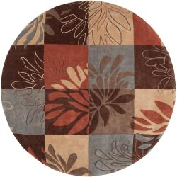 Hand-tufted Grey Hillsborough East Rug (8' Round)