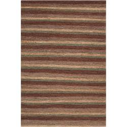 Hand-woven Brown Doctra Natural Fiber Hemp Rug (3'3 x 5'3)