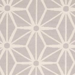 Jill Rosenwald Hand-woven Beige Faller Wool Rug (3'6 x 5'6)