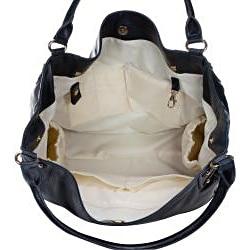 Amy Michelle Black Zebra Diaper Bag