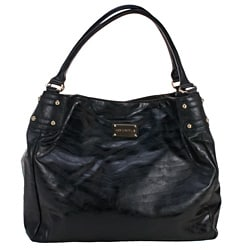 Amy Michelle Black Zebra Diaper Bag