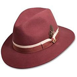 Stacy Adams Men's Crushable Felt Safari Hat