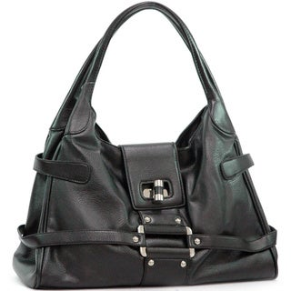 Dasein Twist-Lock Hobo Bag