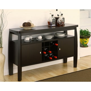 Furniture of America Zarina Dark Espresso Buffet Table