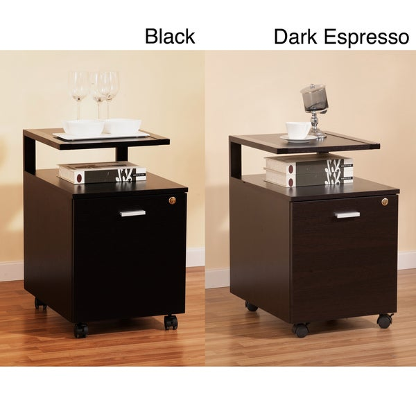 Furniture of America Milla Modernized Home Office Single File Drawer Cabinet