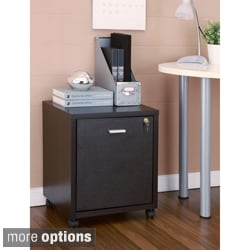 Furniture of America Terra Home Office File Cabinet with Casters