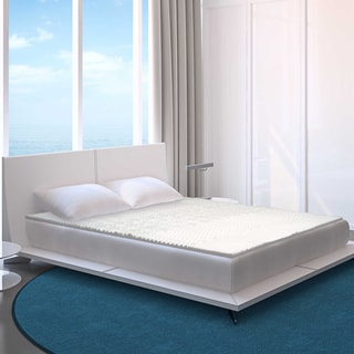 Splendorest 5-zone 1.25-inch Memory Foam Mattress Topper