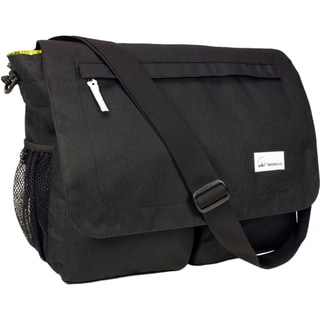 Amy Michelle Seattle Black Diaper Bag