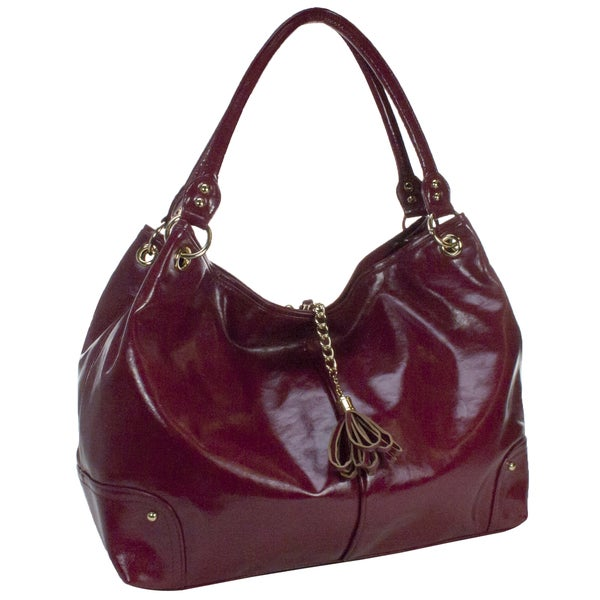 Amy Michelle Magnolia Red Diaper Bag