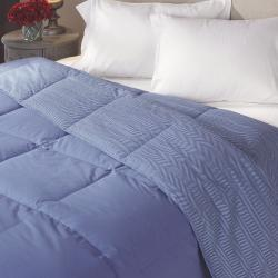 Famous Maker Oversized Reversible Herringbone Down Comforter