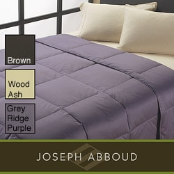 Joseph Abboud 500 Thread Count Egyptian Cotton Down Comforter