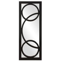 Dynasty Black Resin Mirror