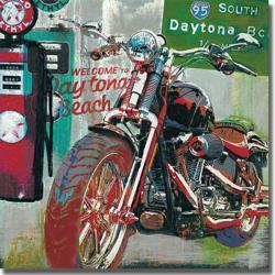 Ray Foster 'Daytona Beach' Canvas Art