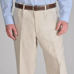 U and I Men's Light Sherry Linen Pants
