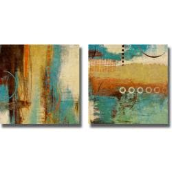 Michael Marcon 'Boardwalk Fun I and II' 2-piece Canvas Art Set