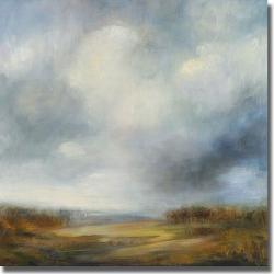 Simon Addyman 'Blue Light' Canvas Art