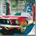 Ray Foster 'Ventura Freeway' Canvas Art