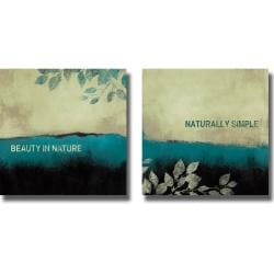 Lanie Loreth 'Beauty in Nature and Naturally Simple' 2-piece Canvas Art Set