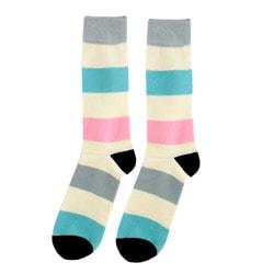 FineFit Women's Striped Boot Socks