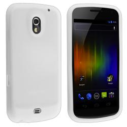White Silicone Skin Case for Samsung Galaxy Nexus i9250