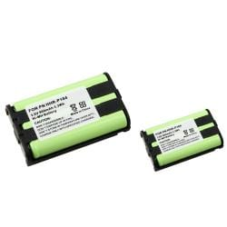 Compatible Cordless Phone Battery for Panasonic HHR-P104 (Pack of 2)