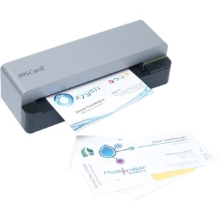 I.R.I.S IRISCard Anywhere 5 Card Scanner - 300 dpi Optical
